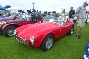 Yes, it's real.  Nothing much revs my motor better than a no flares, no sidepipes small-block Shelby  Cobra.