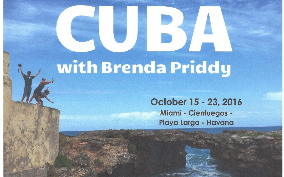 Join me on a car tour of Cuba