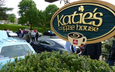 Cars and Coffee at Katie's in Virginia