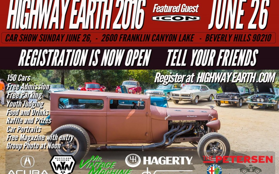 Calendar Alert: Highway Earth Car Show is June 26