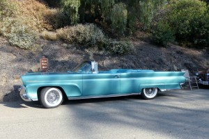 Few would call this massive late 50s Continental Mk III convertible pretty, but everyone calls it cool.