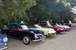 The Alfa Romeo Owner's Clus of Southern California hosted its on concours show within a show at Highway Earth, earning extra large turnout parking for their 20 plus participants.  Va Bene!