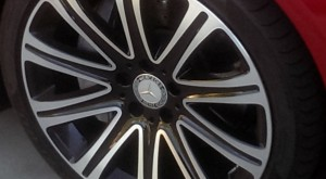 19-inch wheels and high performance rubber are handsome and just about perfect for this car.