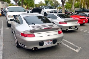 LOTS of late Turbos show up at SuperCar Sunday.