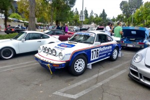 Interesting and credible factory rallye racer tribute.