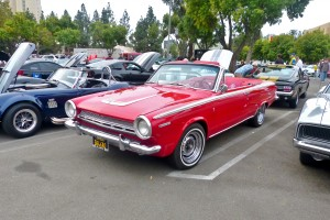Don't laugh, but I find this '64 Dart convertible very appealing. Its a V-8 model, sits nicely on later wheels, runs great colors, and is absolutely immaculate. Talk about beach cruiser.