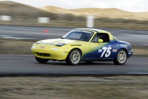 Spec Miata is easy to drive and terrific giggly fun to race, and faster than you think.  If I ever decide to really jump into SCCA club racing, this is where I'm going.