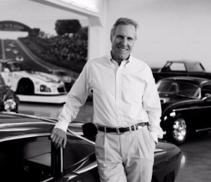 The ageless and forever handsome Bruce Meyer, whom I consider a friend and an ultimate car guy.