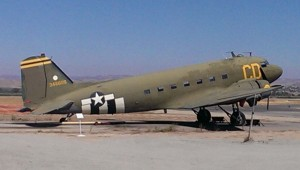 You had me at hello: I'm not as much of a wingnut as I am a four wheeled motorhead, but I love DC3s, commercial or military. And that's what this C-47 SkyTrain is, the military version of the McDoug DC3. With a top speed of over 200mph, and a full tank range of about 2000 miles, this grumbling old bird could go anywher and do most anything. 2400 horsepower certainly sounds appealing to me.
