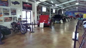 This is the first room you see when you walk into the auto collection area. Talk about a good start.