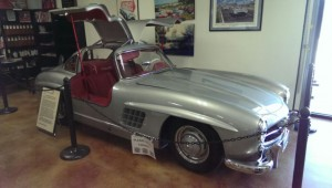 Never tired of a great Gullwing; nice colors and in show quality condition.