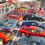 More than 300 Ferraris visit the new Petersen to celebrate