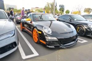 Always plenty-o-Porsches on hand at M4T.