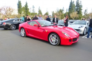 One of the best driving, and one of my my favorite, modern era Ferrari is this Enzo -engined 599GTB.