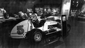 Never forget that the Unser boys was highly accomplished on the dirt. Back in the day, the USAC dirt car races counted towards the season championship, and in between the big paved ovals, Al, Bobby, Mario, and AJ used to duke it out on the dirt.