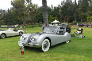 True Brit: the lines of the original Jaguar XK120 fixed head coupe never grow old, just timeless.