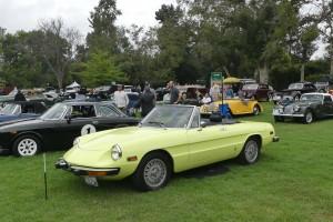 My friend Jeff's '74 Alfa Spider, a previous San Marino class award winner.
