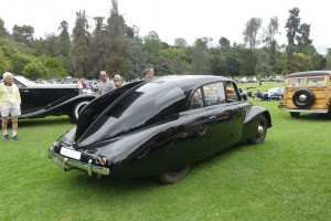 One of the few moments this fabulous Tatra didn't have a crowd around it.