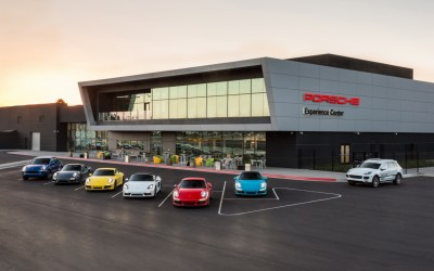 Porsche Experience Center Los Angeles Opens in Grand Style