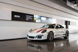 This is about as close as any of us is likely to get to the new 911R, unless you are among the lucky few allowed to buy one.