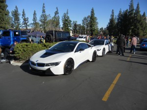 Enough BMW I8 voltage here to power a small city. Positively exotic!