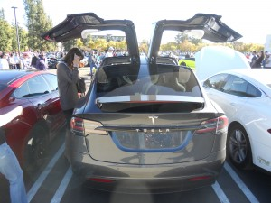 Winged things, like this Tesla X, very popular at Motor4Toys.