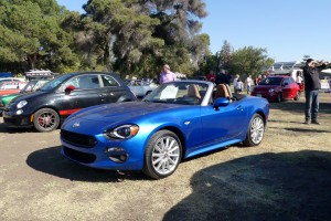 I just spent a week in one of the new Fiat 124 Spyders, and enjoyed it a bunch.