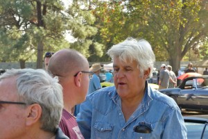 Of course Jay Leno was there...