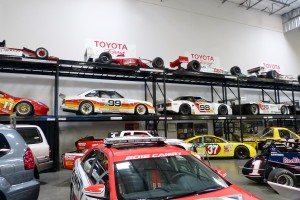 And lotsa lotsa more race cars.