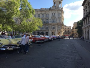 Best place to pick up your favorite tour taxi is at this giant park parking lot across the street from the capitol building in Havana. Many of the cars are very fine.