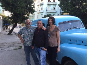Linda and I truly came to love Frank - a tough but very nice man, who told us all about his family and life in Cuba.