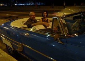 Cruising along the seawall top down after dinner is a wonderful thing.