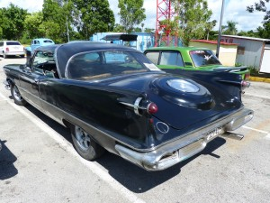 Some of the cars are rode hard and never put away. This Imperial Crown Coupe has certainly seen better days, but still on the road, and For Sale too...so could be yours.