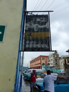 Yippee - its car museum day! Don't expect the Petersen or the Guggenheim, this is Cuba remember.