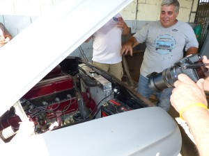 NostalgicarCuba principle Julio Torres is proud of his shop's work, as well as being smart, passionate about cars, and hard working.