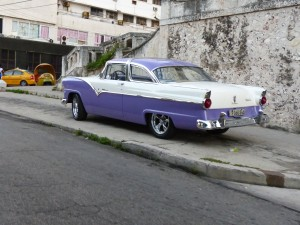 This fabulous '56 Ford Crown Victoria may be the car I saw on the island that I most wanted to bring home.
