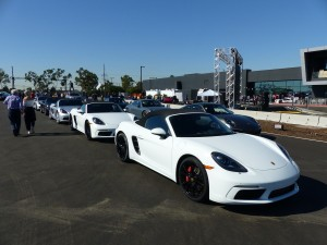 Line 'em up - new Porsches are yours for the (lap) taking at PECLA,