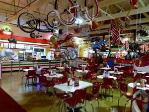 Very vintagy diner has decent food at reasonable prices.