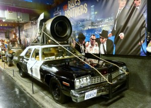 """""""The Blues Brothers"""" film was based in Chicago, so it only makes sense that Volo has a Bluesmobile. Long live Elwood and Jake!"""