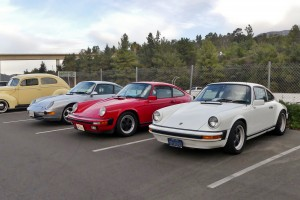 Like I said, lots of Porsches on hand, early, new, stock, rodded, and ratted.