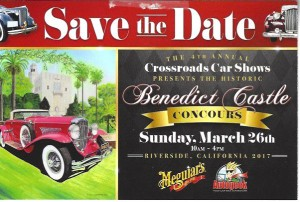 Benedict castle save the date front