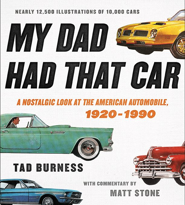 "New Book Launch, and enter for your chance to win a free copy of ""My Dad Had That Car"""