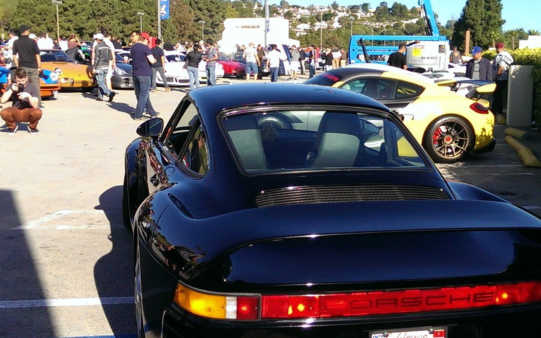 Pelican Parts' spin on Cars N Coffee