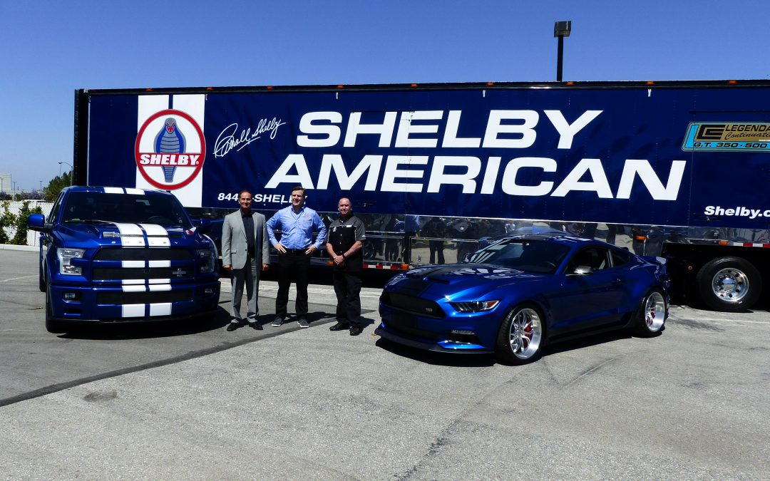 Shelby American unleashes new F-150 SuperSnake  (production model) and wide-body SuperSnake Mustang (concept)