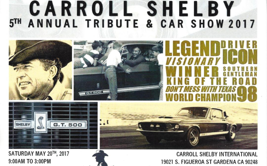 Carroll Shelby Tribute 2017