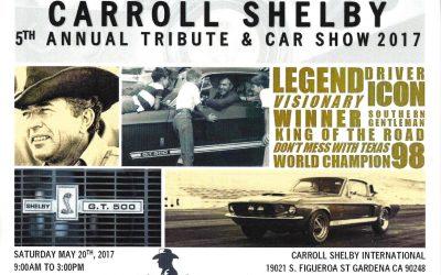 Carroll Shelby Tribute 2017