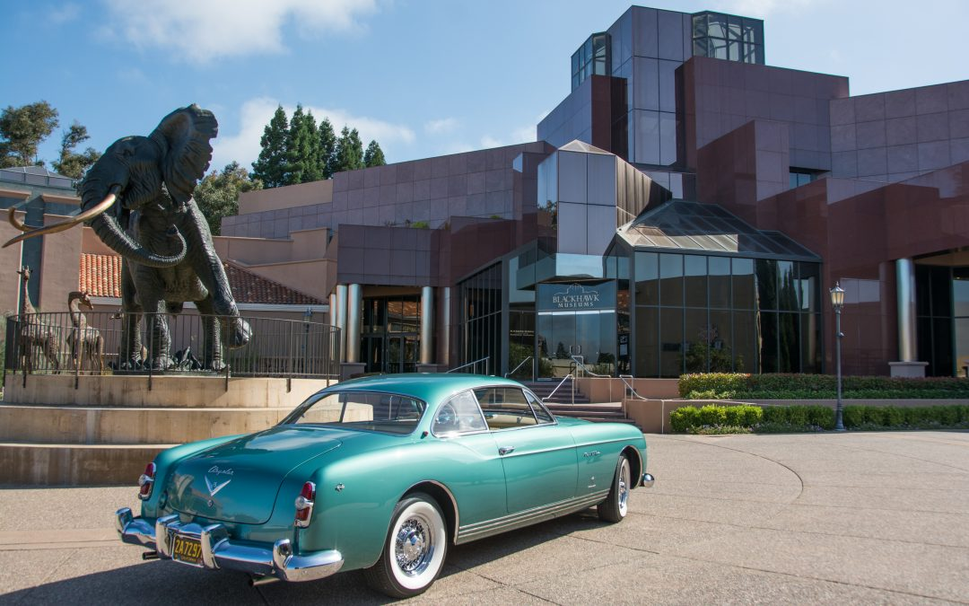 Transatlantic Style: a Romance of Fins and Chrome Exhibition at the Blackhawk Automotive Museum July 8 – September 30,
