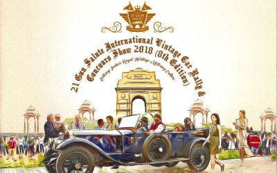 Calendar Alert: India's 21 Gun Salute Concours and vintage car festival 2018 Dates are set
