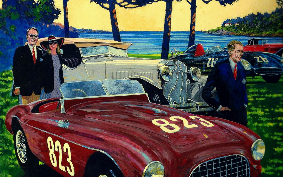 Postcards from Pebble Beach (and other Car Week locales)