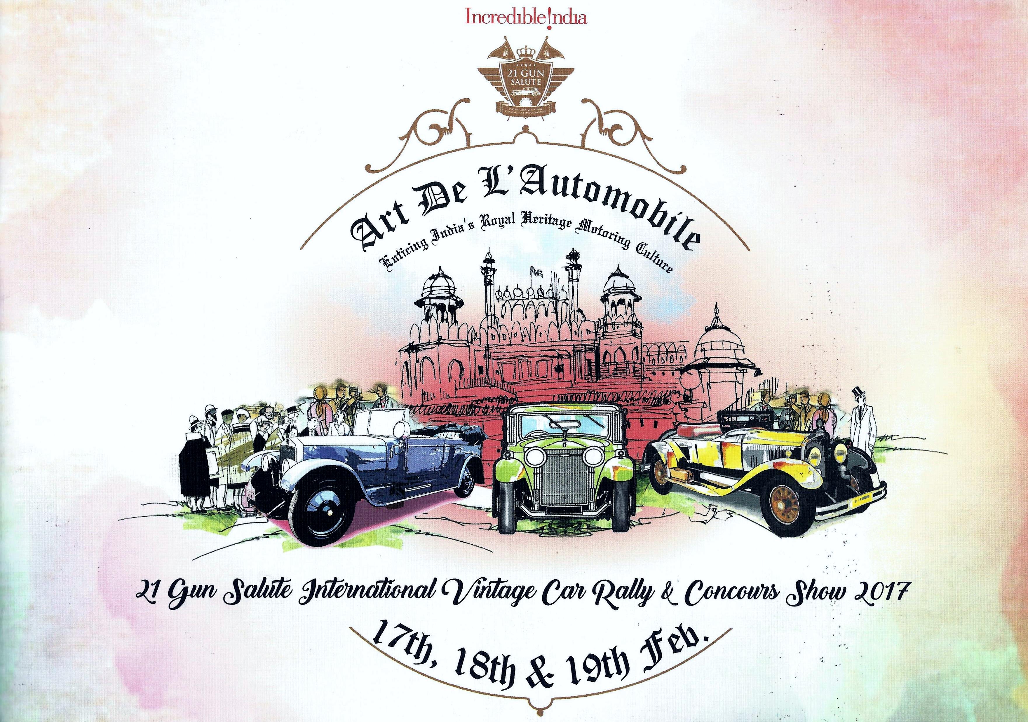 Silk Road Cars Th Annual Gun Salute International Vintage Car - Car rally near me